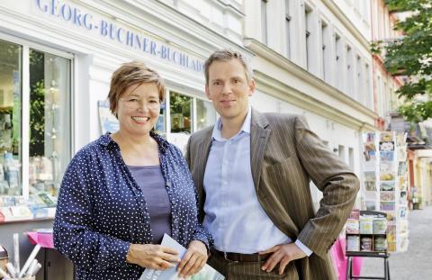 Sabeth Vilmar und Benjamin Liebhäuser. Foto: Monique Wüstenhagen